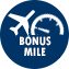 Flight Bonus Mile with ANA flight